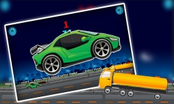 Speedy jumpy car rush screenshot 2/4