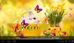 3D Cute Rabbit Live Wallpapers screenshot 3/4