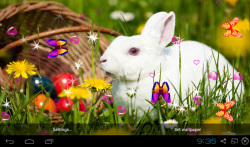 3D Cute Rabbit Live Wallpapers screenshot 4/4