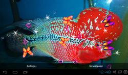 3D Flowerhorn Cichlid Live Wallpaper screenshot 2/5