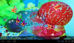 3D Flowerhorn Cichlid Live Wallpaper screenshot 4/5