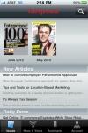 Entrepreneur Magazine screenshot 1/1