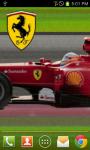 Ferrari F1 Scroll LWP Ad-sup screenshot 1/2