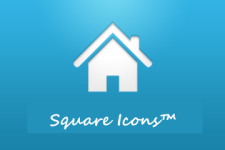 Square Icons Pack For All Major Launchers screenshot 1/3