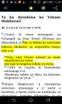 BIBELE / BIBLE IN TSONGA screenshot 3/3
