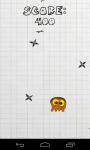 Bubble gum: Ninja star avoider screenshot 2/6