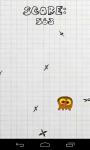 Bubble gum: Ninja star avoider screenshot 3/6