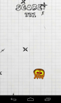 Bubble gum: Ninja star avoider screenshot 4/6