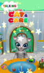 Talking Little Cat And Care screenshot 1/6