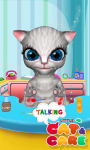 Talking Little Cat And Care screenshot 3/6