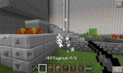 New Gun Mod for Minecraft Pocket Edition screenshot 1/3