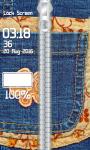 Best Jeans Zipper Lock Screen screenshot 4/6