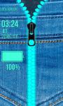 Best Jeans Zipper Lock Screen screenshot 6/6
