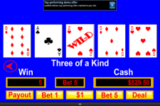 Video Poker Mania screenshot 1/3