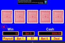 Video Poker Mania screenshot 2/3
