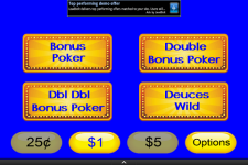 Video Poker Mania screenshot 3/3