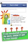 I Will Wake Up - Facebook Linked Alarm Clock screenshot 6/6