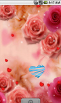 Pink Roses Romantic Live Wallpaper screenshot 3/4