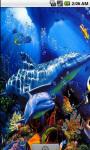 Blue Dolphins Live Wallpaper screenshot 1/4