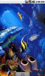 Blue Dolphins Live Wallpaper screenshot 3/4