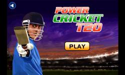 Power CricketT20 screenshot 1/5