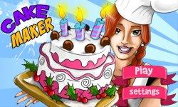 Cake Maker Cooking Master screenshot 1/4