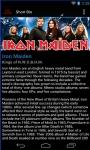 Iron Maiden Android screenshot 2/6