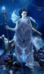 Wolf Queen Live Wallpaper screenshot 3/3