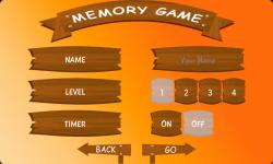 Memory Game For Kidss   screenshot 1/6