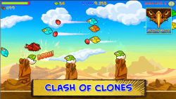 Clash of Clones / Kill birds screenshot 4/5