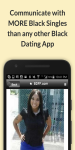 Black Singles Dating For Free screenshot 2/5