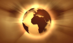 Golden Earth Animation LWP screenshot 3/4
