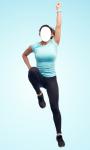 Fitness Girl Photo Montage Free screenshot 4/6