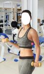 Fitness Girl Photo Montage Free screenshot 5/6