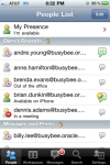 Oracle Beehive Mobile Communicator screenshot 1/1