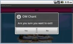 Om Om Chant screenshot 2/2