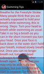 Swimming Racing Tips screenshot 4/4