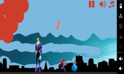 Touch Running Superman screenshot 3/3