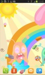 Colorful Jelly Land Cartoon Live Wallpaper screenshot 1/3