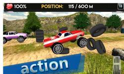 Up Hill Monster Car Racing screenshot 1/4
