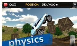 Up Hill Monster Car Racing screenshot 3/4