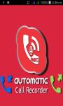 Automatic CallRecorder screenshot 1/6