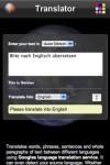 Mob Language Translator screenshot 1/1