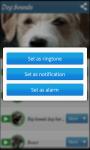 Dog sounds app screenshot 3/3