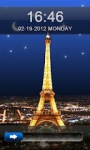 Eiffel Tower  Go Locker Theme screenshot 1/3