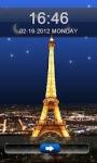 Eiffel Tower  Go Locker Theme screenshot 2/3