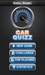 CarsQuiz game screenshot 1/4