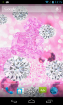 Pink Diamonds Live Wallpaper free screenshot 5/6