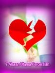 7 Alasan Utama Perceraian screenshot 1/1