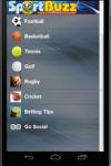 SportBuzz1 screenshot 1/3